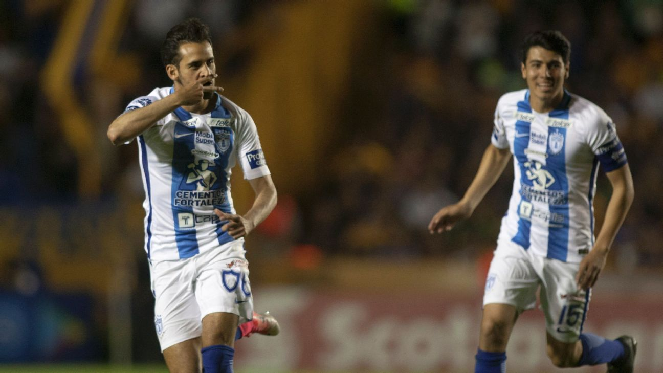 Raul Lopez opened the scoring for Pachuca in the third minute of play on Tuesday.
