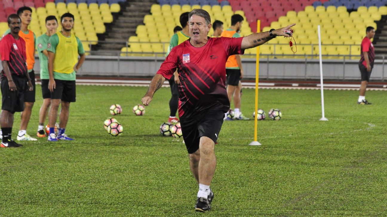 Melaka United head coach Eric Williams