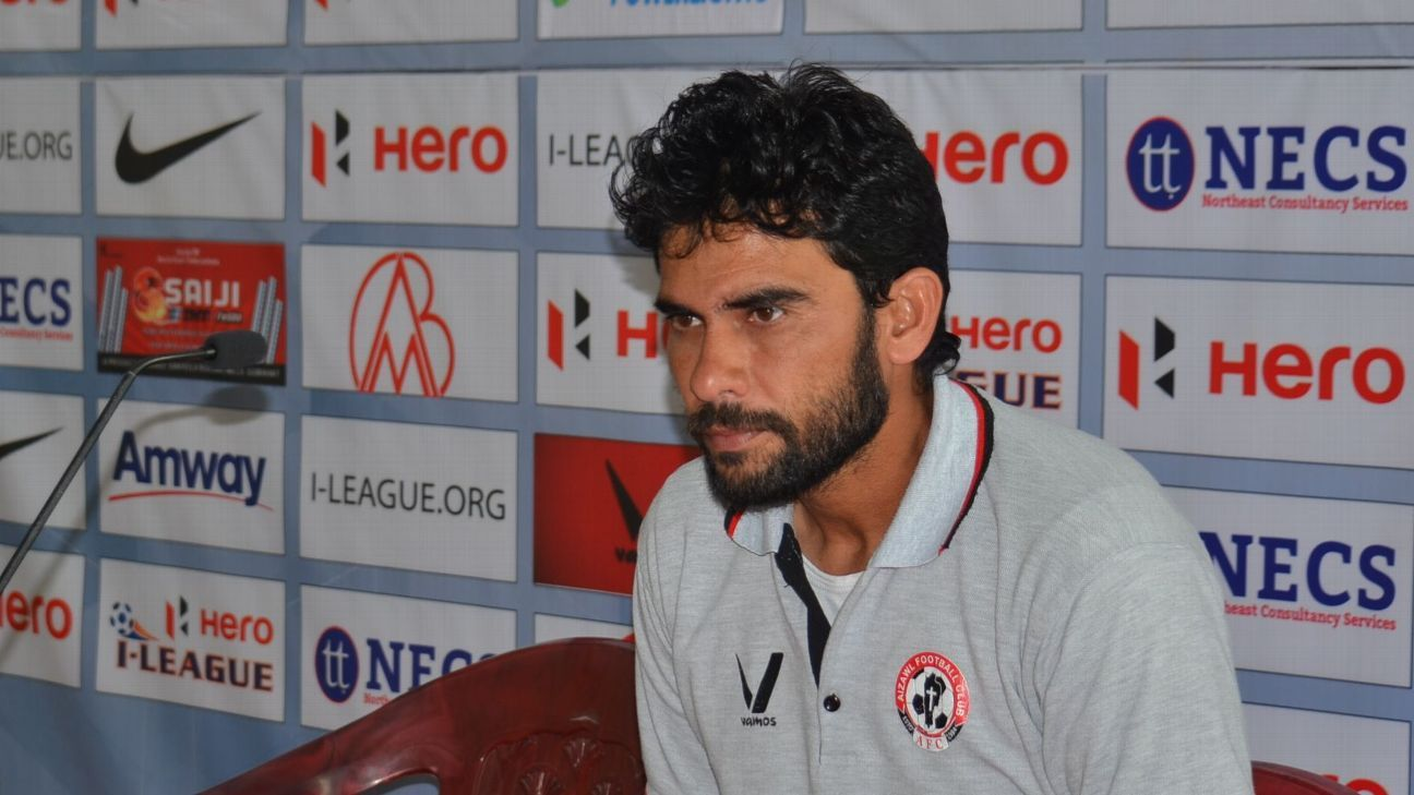 Khalid Jamil has converted Aizawl FC to real title contenders this season with his experience and tactical nous.