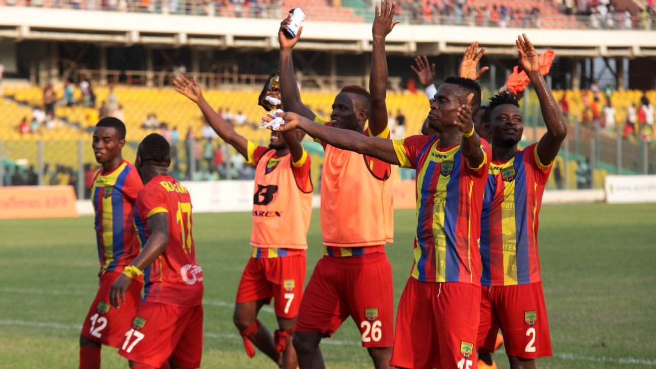 Hearts of Oak won Ghana's last Champions League title - 17 years ago