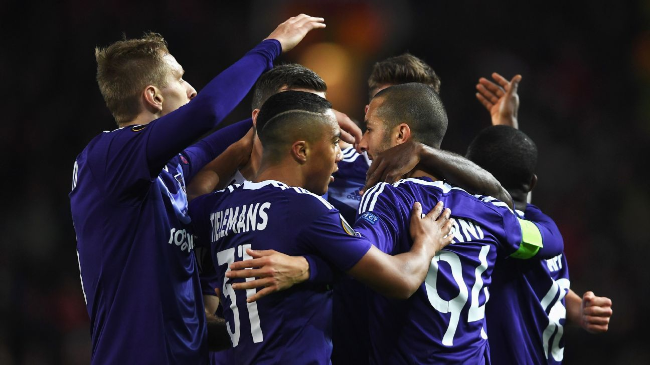 Anderlecht celebration