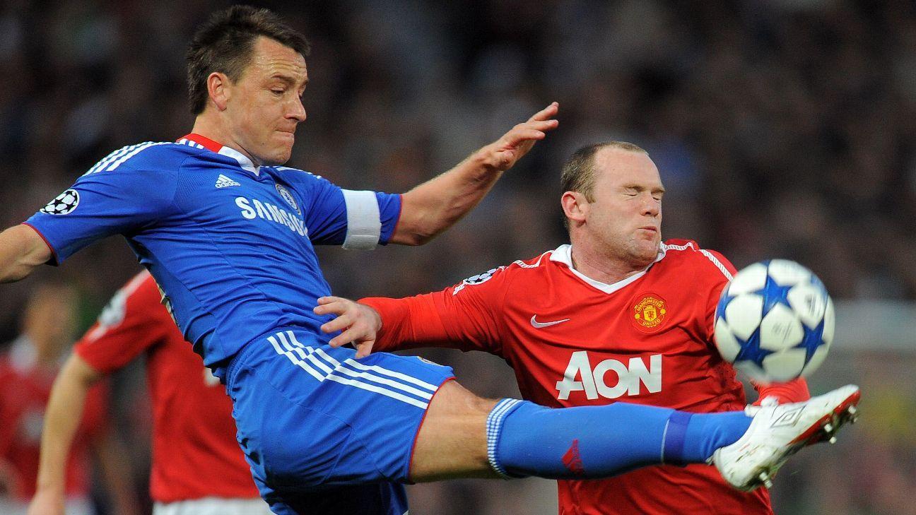 John Terry & Wayne Rooney