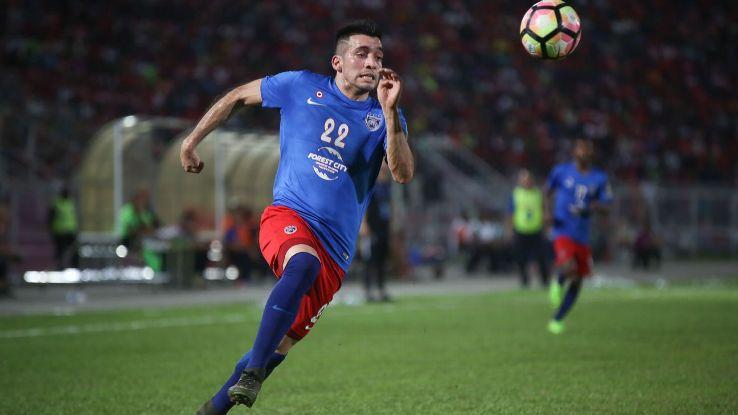 JDT striker Gabriel Guerra