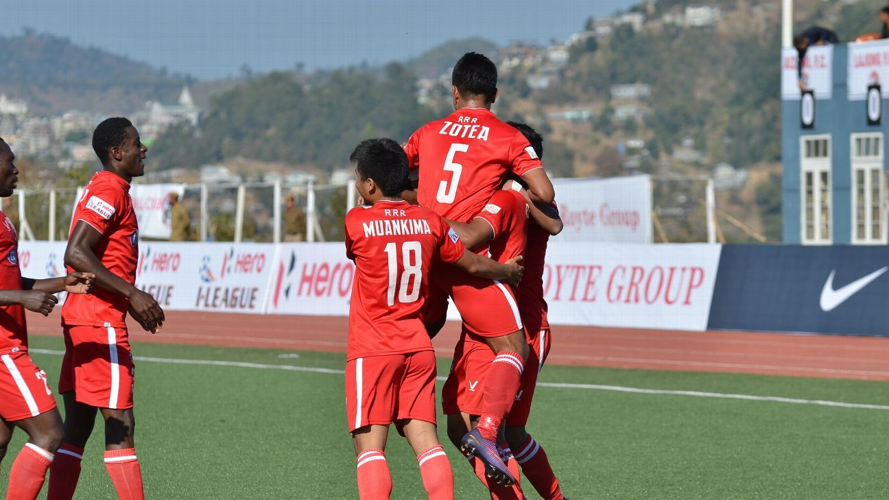 A point against Shillong Lajong in the final game week will confirm Aizawl as I-League champions