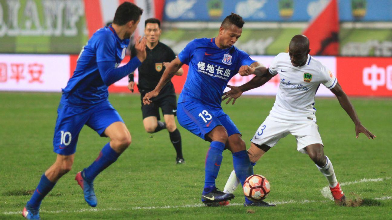Shanghai Shenhua vs. Guizhou Zhicheng 20170422