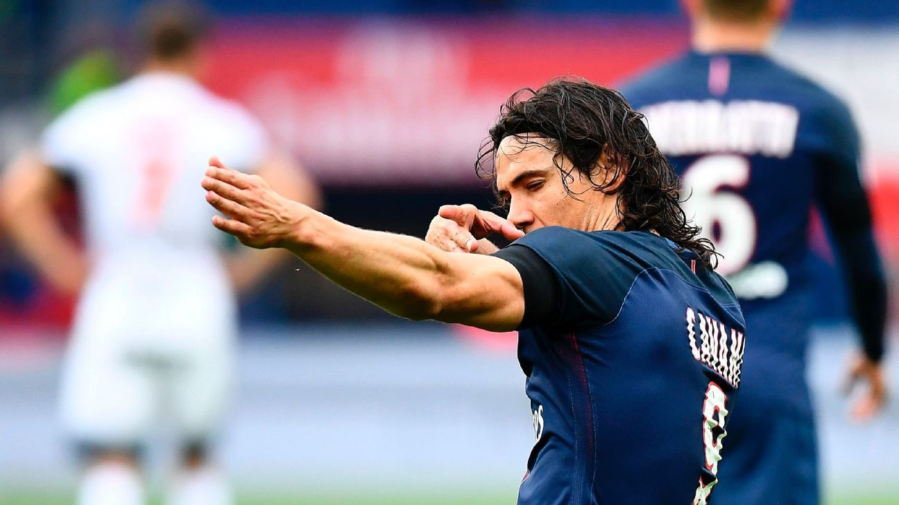Edinson Cavani's new contract means PSG can focus on