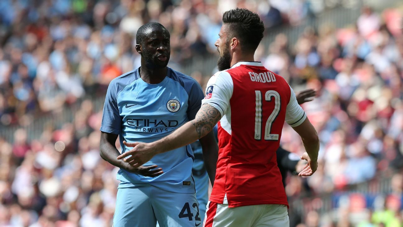 Manchester City's Yaya Toure hits out at referees after FA Cup defeat