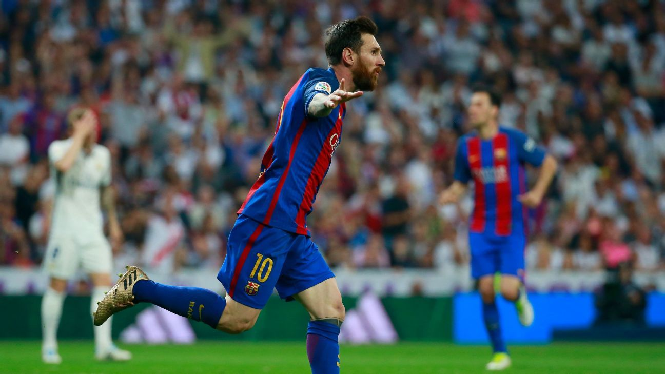 Lionel Messi was the hero once again for Barcelona.