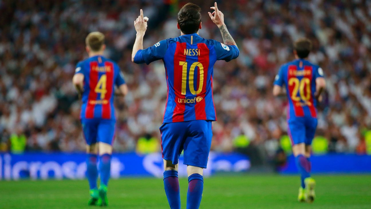 Trending: Lionel Messi stars as Barca beat Real, Arsenal reach FA Cup final