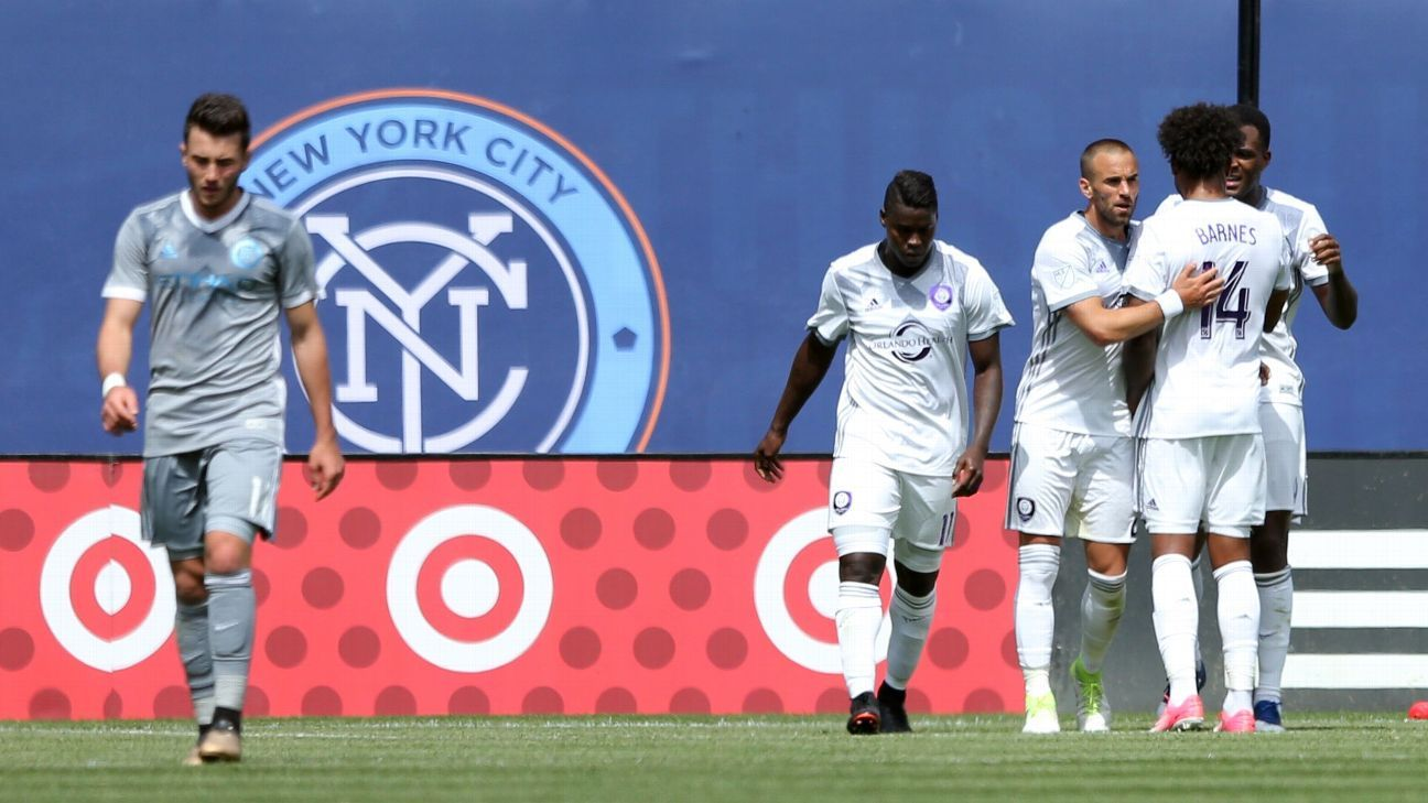 Cyle Larin brace helps Orlando past NYCFC; Sounders smash the Galaxy