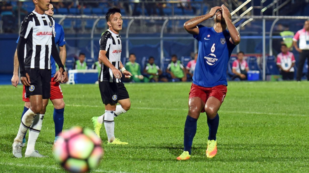 JDT frustrated v Pahang in FA Cup
