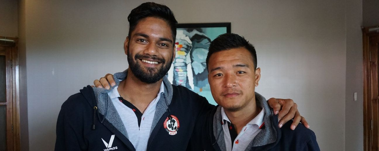 Albino Gomes and Zohmingliana Ralte were the pillars of Aizawl's tactics against Mohun Bagan on Saturday.