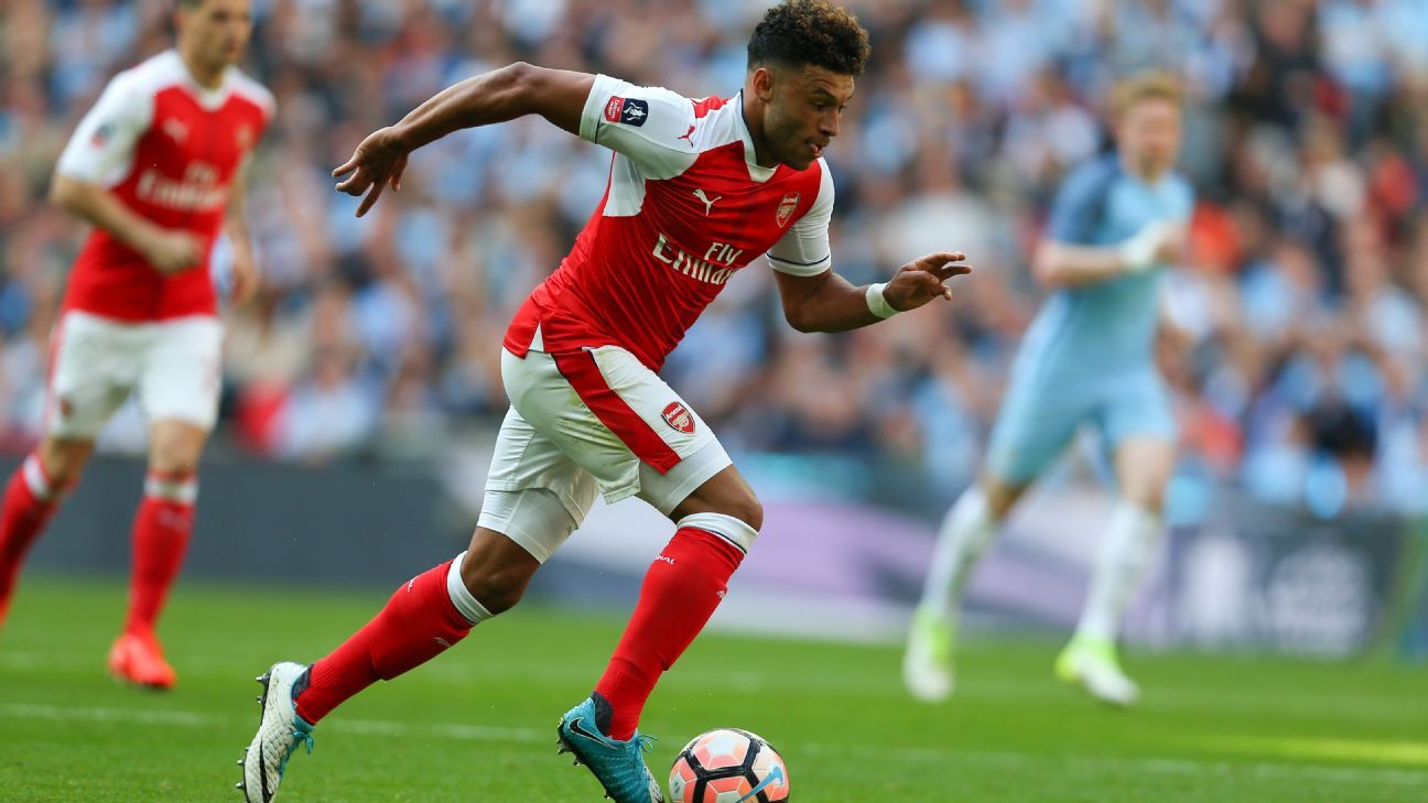 Alex Oxlade-Chamberlain was named Man of the Match in Arsenal's FA Cup semifinal win against Manchester City at Wembley.