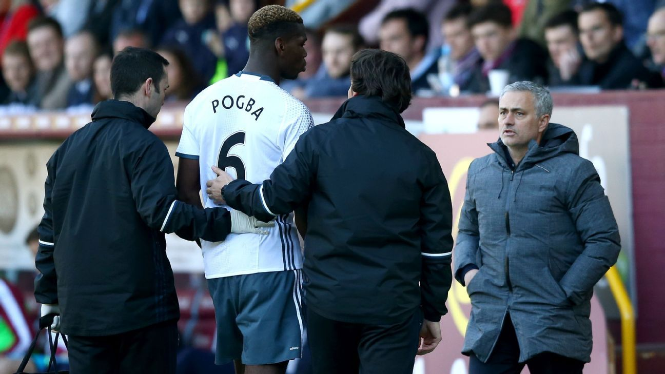 Image result for paul pogba injury burley
