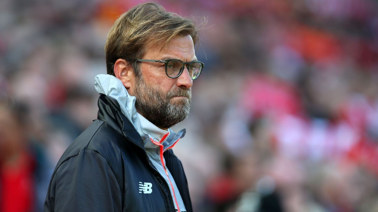 Jurgen Klopp blames Premier League 'intensity' for clubs' UCL struggles
