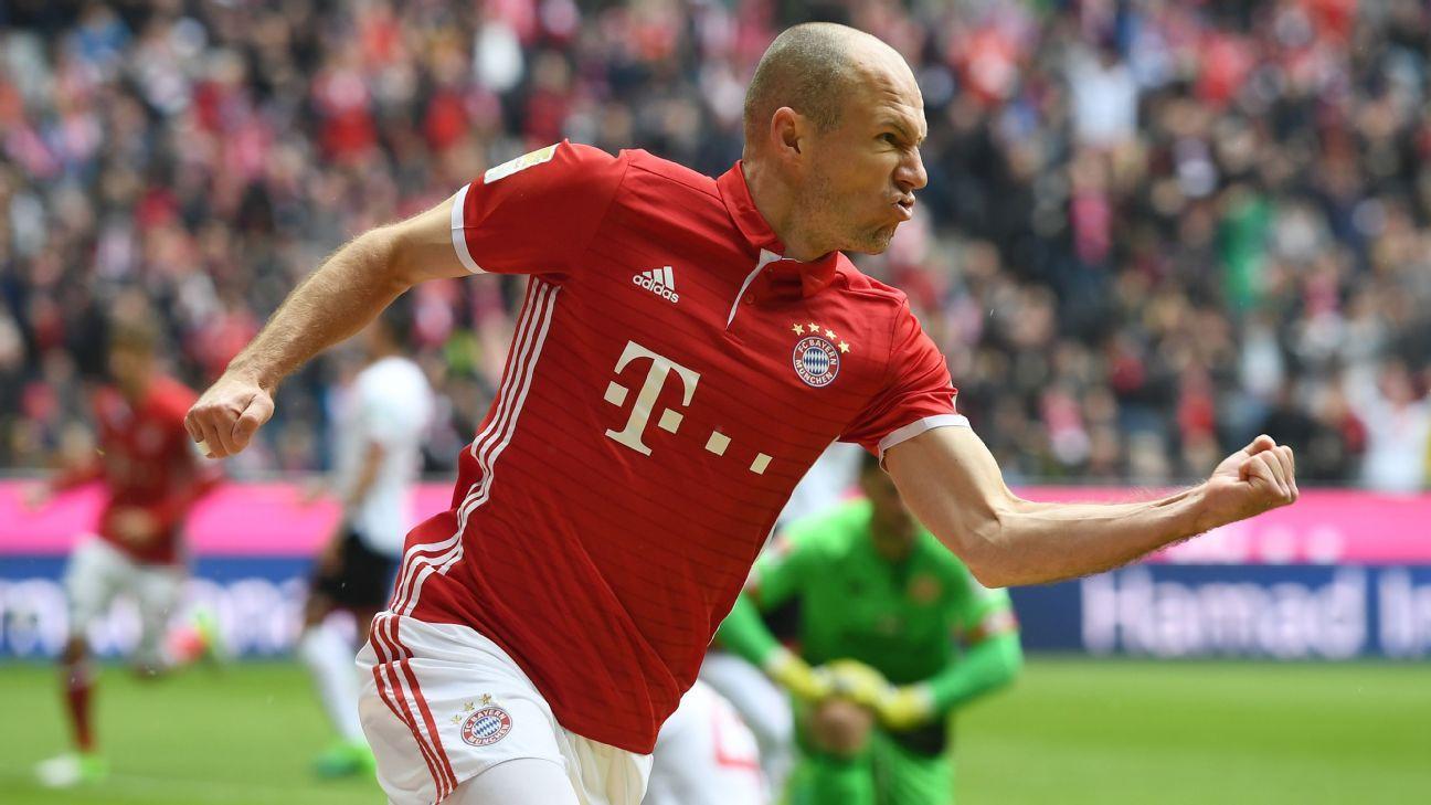 Arjen Robben to miss Bayern Munich s summer tour of China