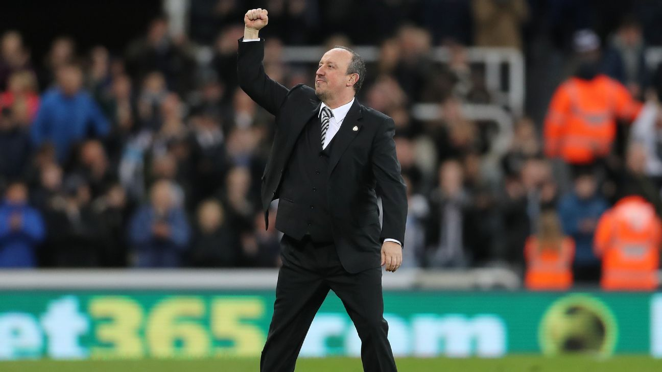 Rafa Benitez completed his goal of restoring Newcastle to the Premier League on Monday.