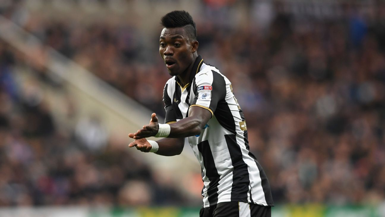 Christian Atsu has impressed during a season-long loan spell with Newcastle United.