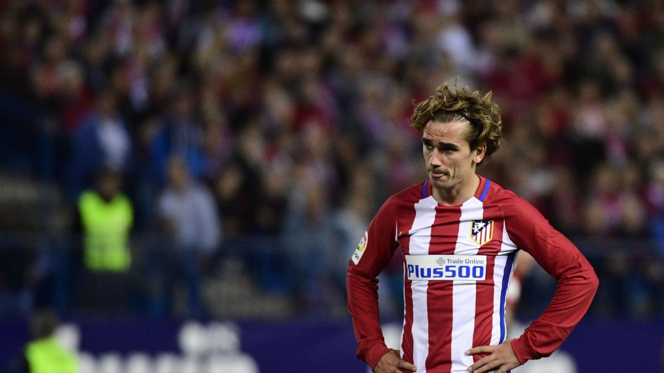 Antoine Griezmann, Atletico incredibly wasteful in defeat to Villarreal