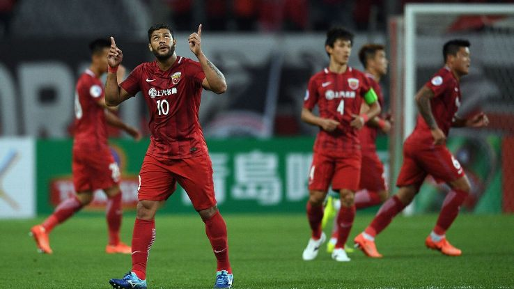 Hulk scored one and set up two as Shanghai SIPG put their arch rivals to the sword.