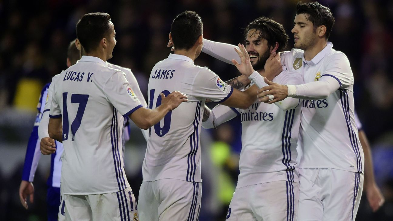 Isco making case to start with another perfect performance at Deportivo