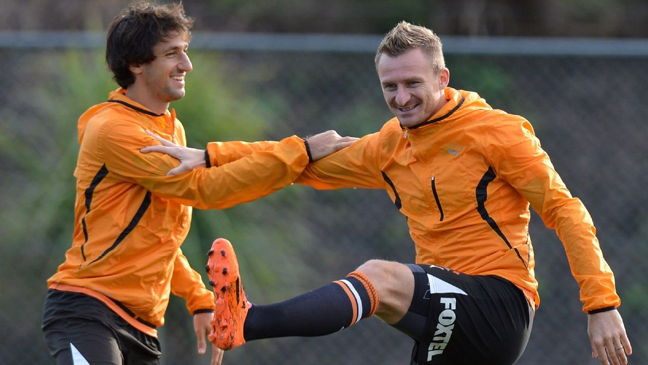 Thomas Broich and Besart Berisha