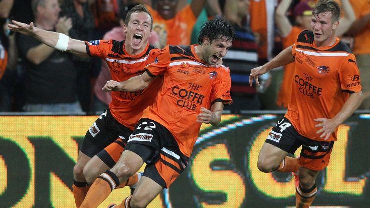 Thomas Broich 2012 A-League Grand Final