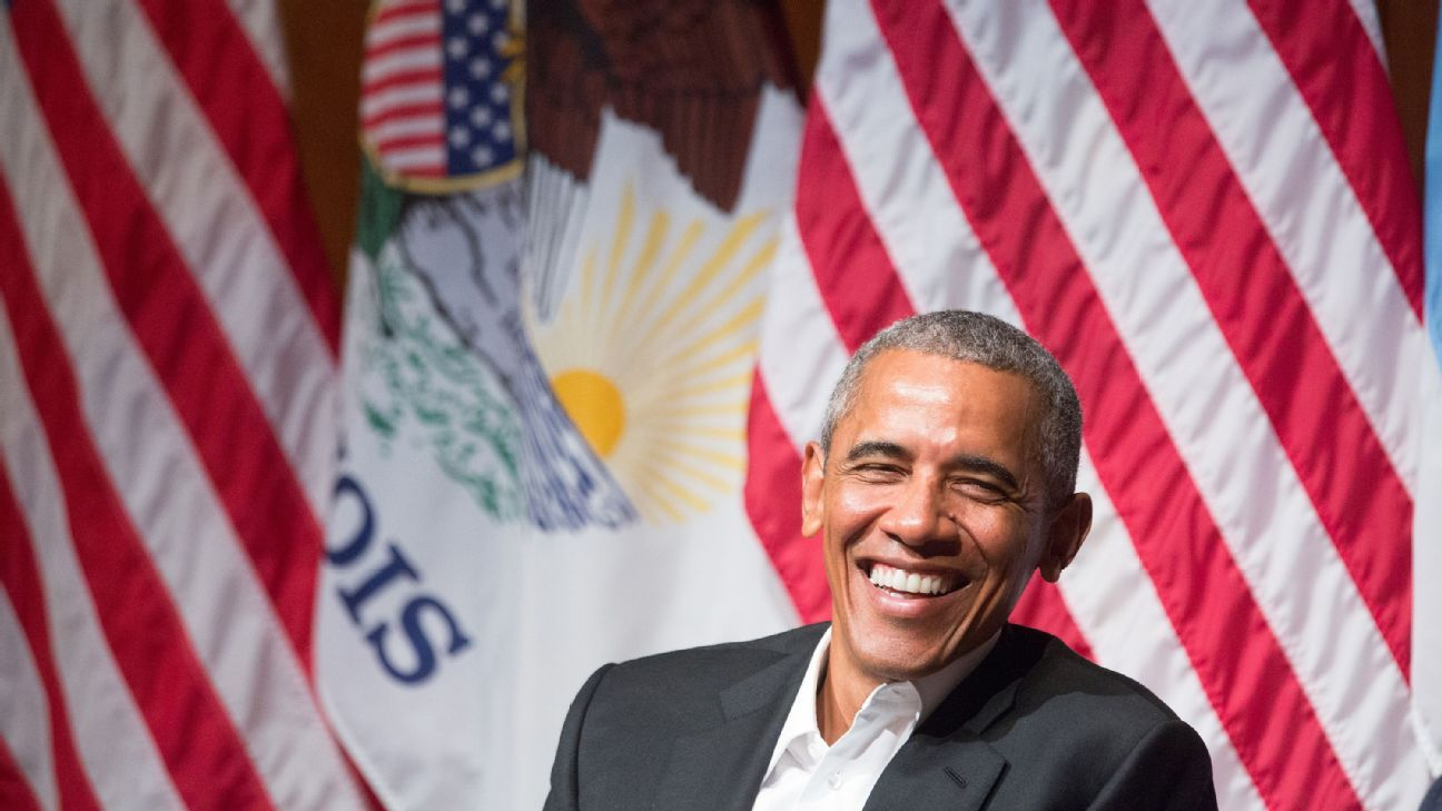 Former U.S. President Barack Obama pictured in April 2017.