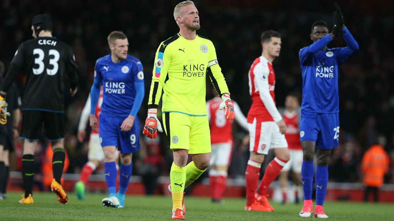Leicester undone by piece of bad luck at Arsenal as relegation still looms