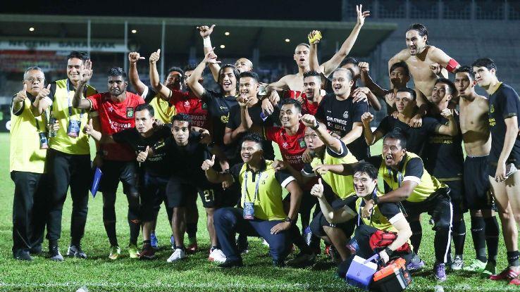 Terengganu celebrate Malaysia FA Cup win