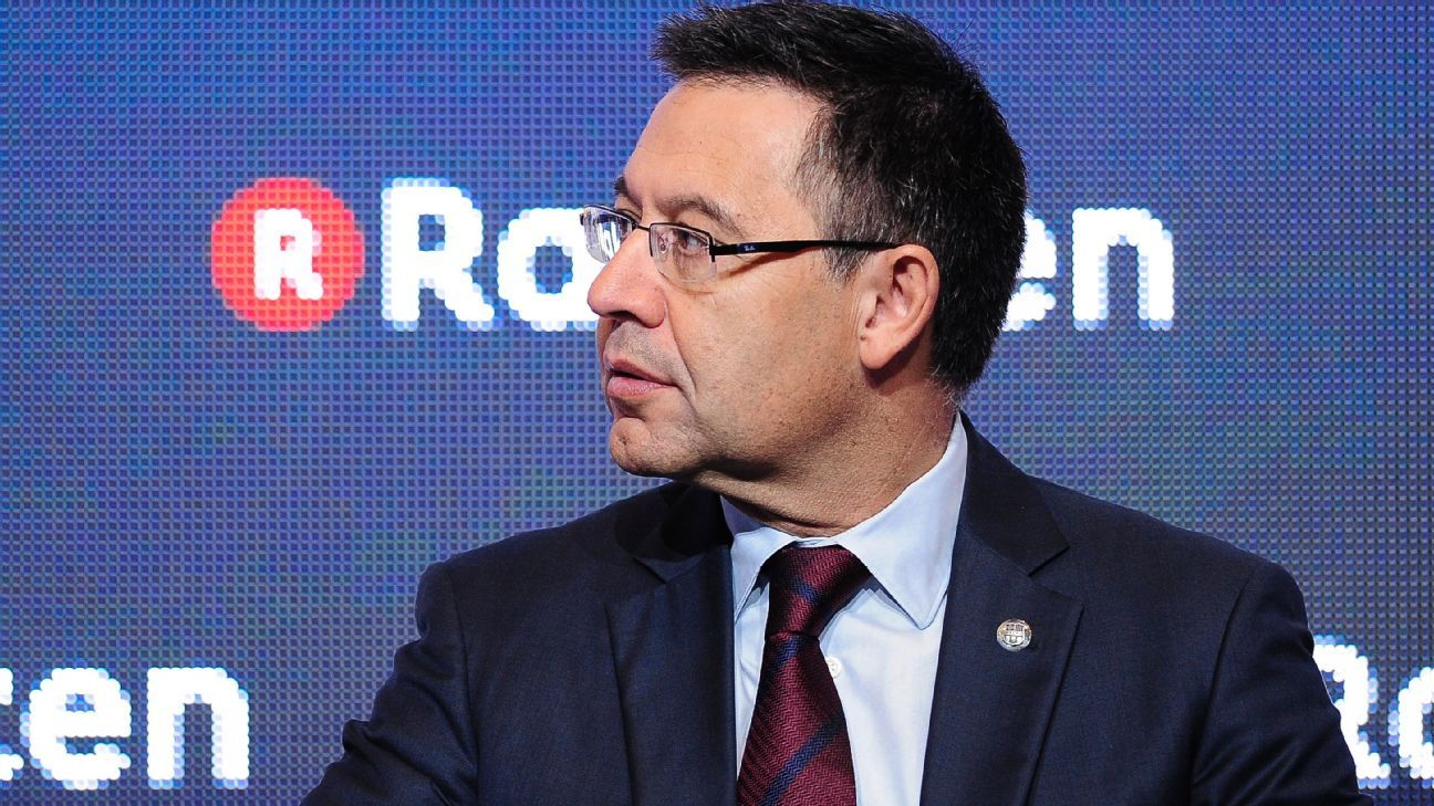 Barcelona may need January signing to compete on all fronts - Bartomeu