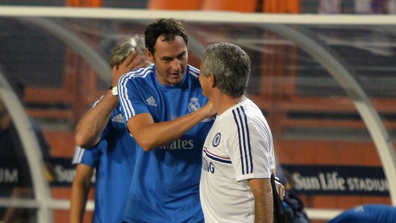 Paul Clement & Jose Mourinho