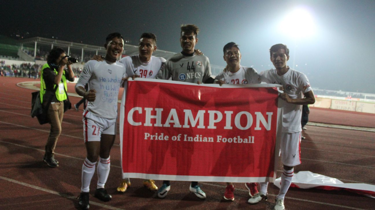 Aizawl, the new champions of India