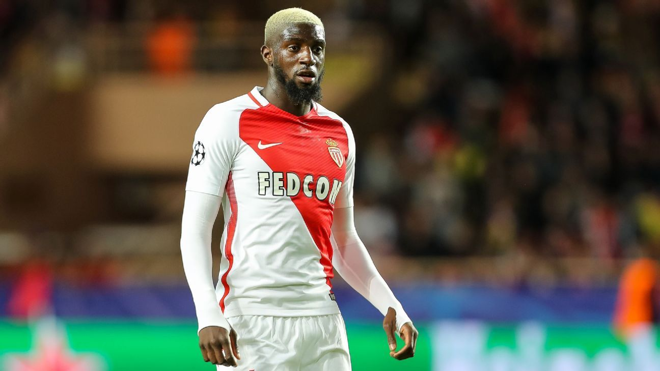 Tiemoue Bakayoko looks on during the UEFA Champions League quarter final second leg match between AS Monaco and Borussia Dortmund at Stade Louis II on April 19, 2017 in Monaco. (Photo by TF-Images/Getty Images)