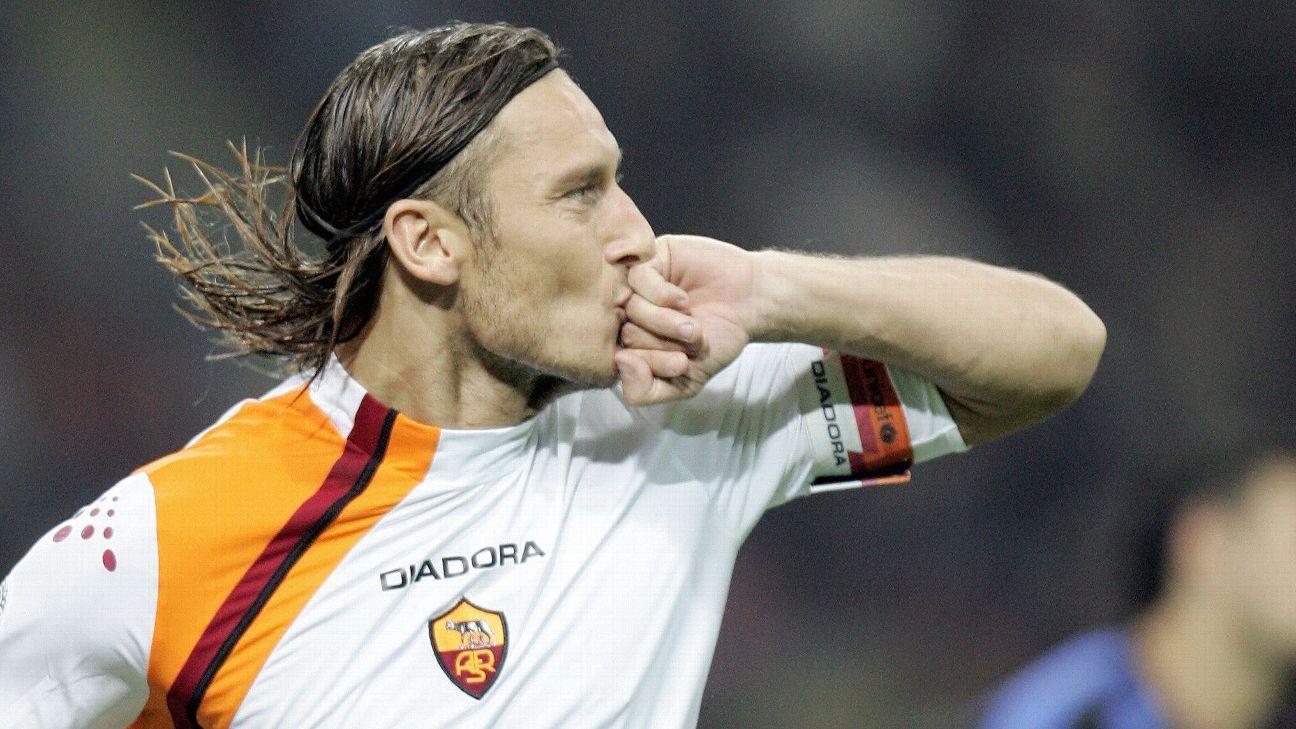 Totti celeb vs Inter Milan 20051026
