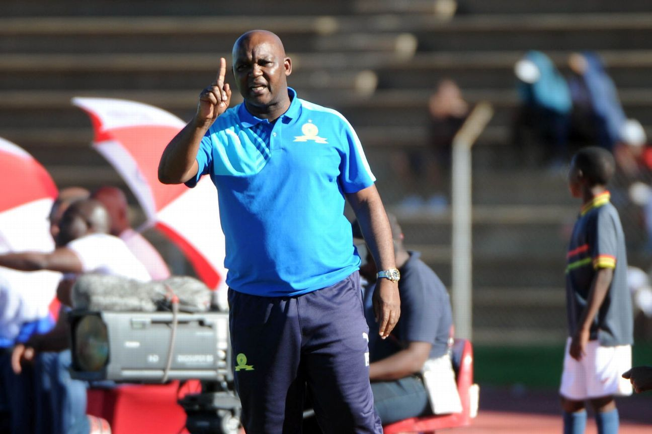 Pitso Mosimane, coach of Mamelodi Sundowns.