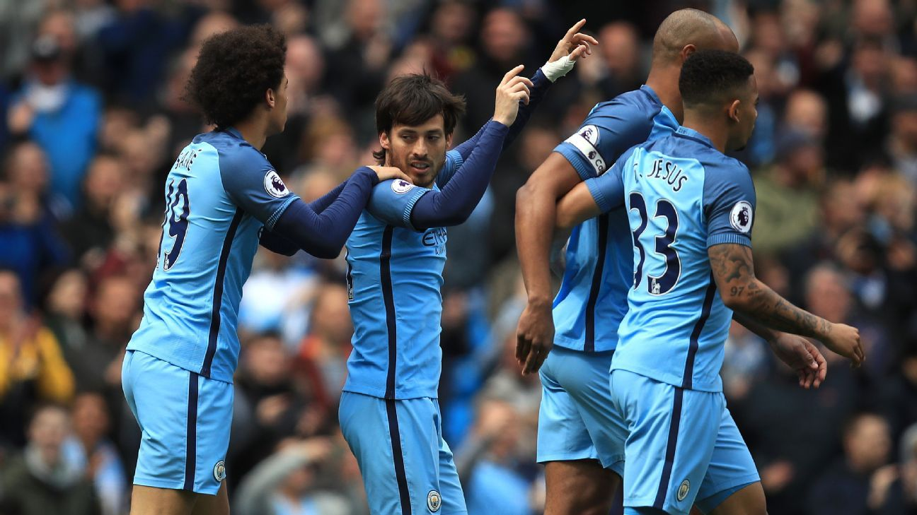 David Silva netted his 50th goal for Manchester City.