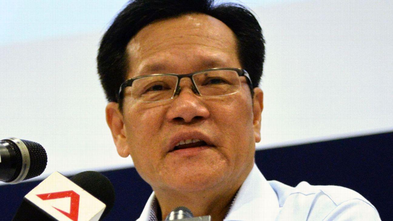 FAS president Lim Kia Tong