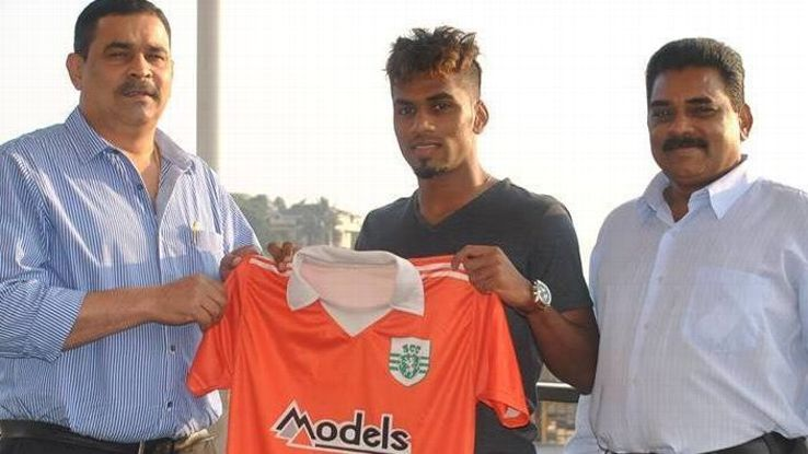 Brandon played for Sporting Club de Goa and Mohun Bagan before coming to Churchill Brothers.
