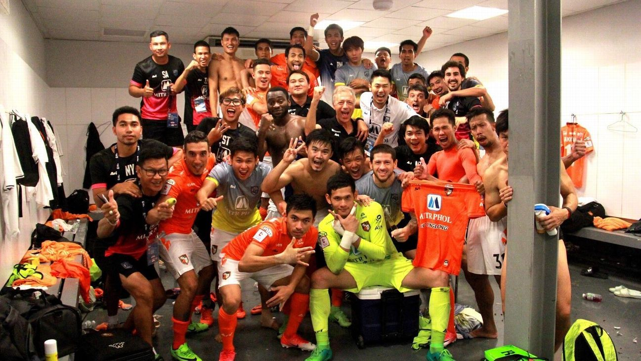 Ratchaburi celebrate Thai league win