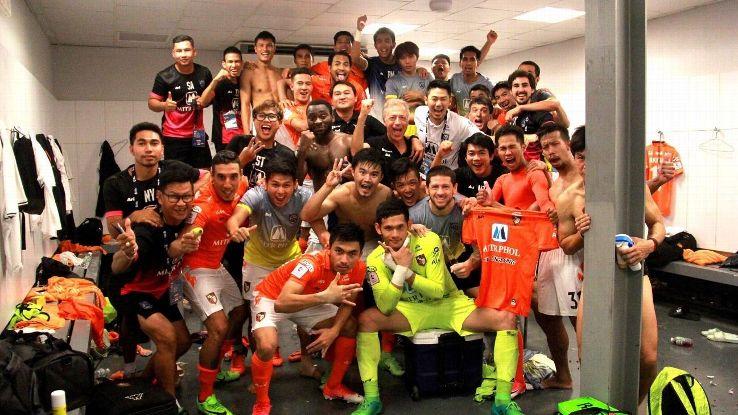 Ratchaburi celebrate Thai league win