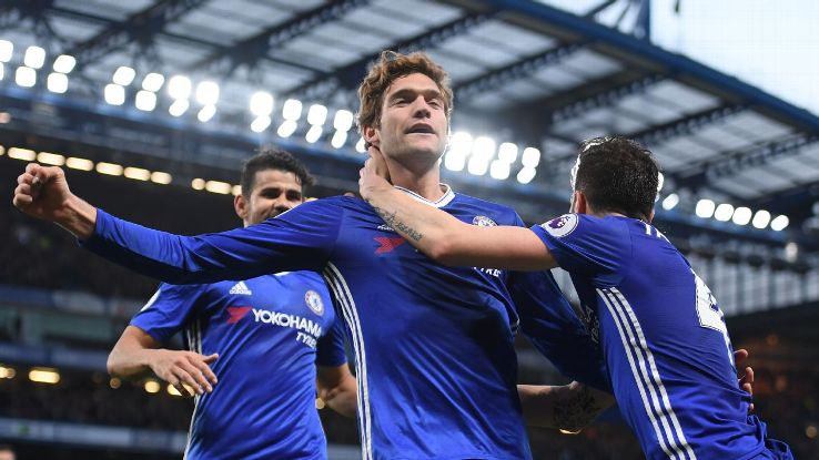 Chelsea moved one step closer to the Premier League title on Monday.