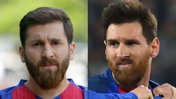 Bisakah kamu temukan mana Messi yang asli?