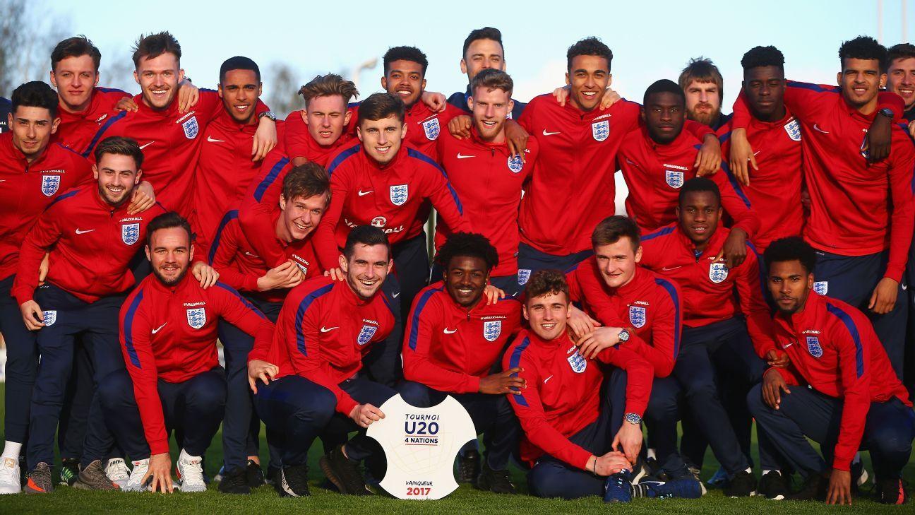 England under-20s team