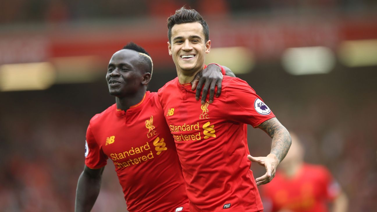 Liverpool firm on keeping Coutinho amid Barca interest - sources