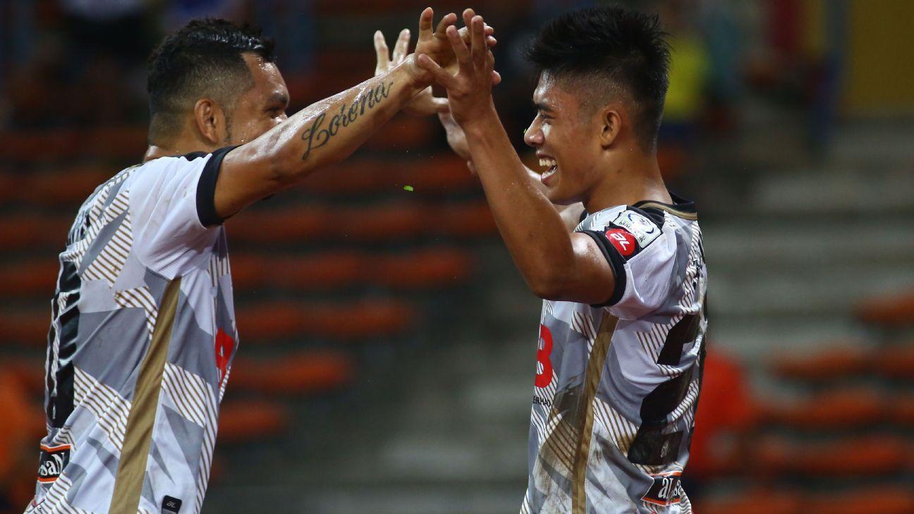 Kedah attackers Sandro and Syafiq Ahmad