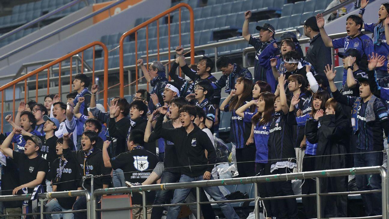 Gamba Osaka fans