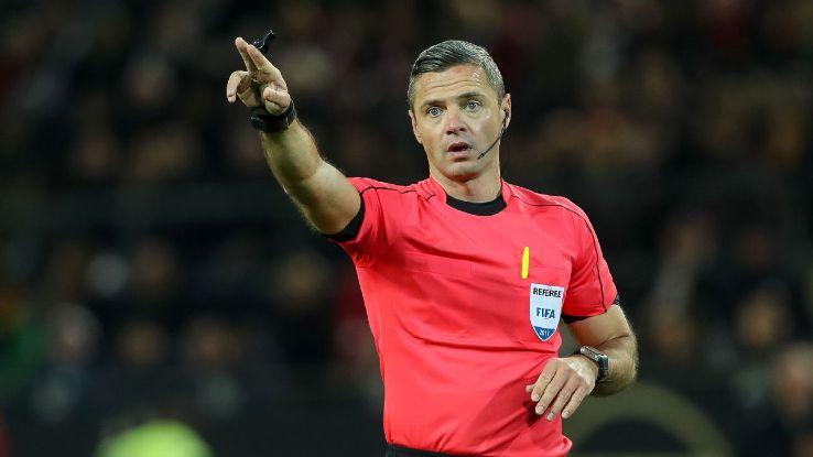 Damir Skomina To Ref Europa League Final Between Man