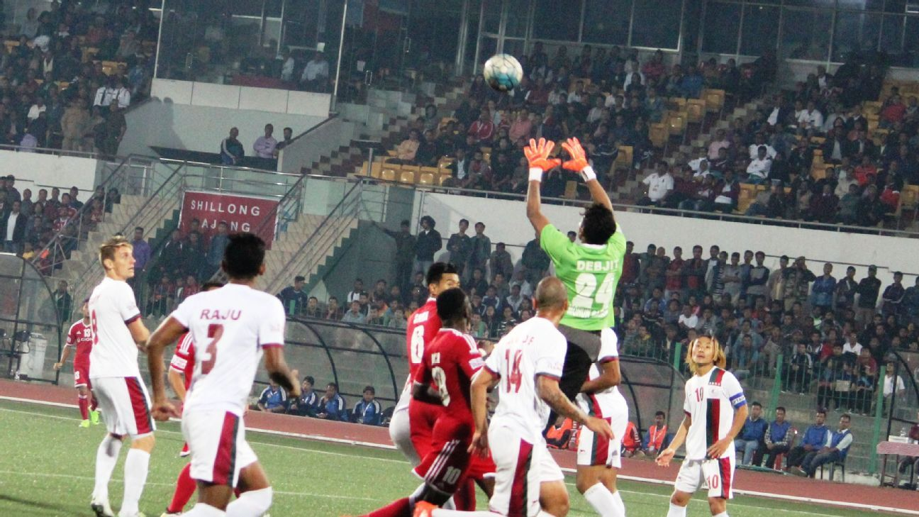 Debjit Majumdar kept eight clean sheets for Bagan during the 2016-17 I-League season.