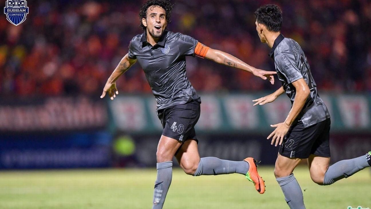 Buriram United attacker Diogo